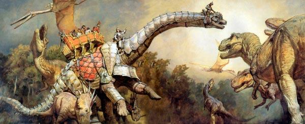 Dinotopia - O Mundo Fantástico de James Gurney Arte & Ilustração literatura arte ilustração fantasia dinossauros james gurney Figura do Slideshow #23
