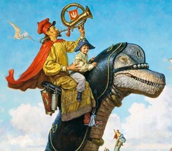 Dinotopia - O Mundo Fantástico de James Gurney Arte & Ilustração literatura arte ilustração fantasia dinossauros james gurney Figura do Slideshow #20