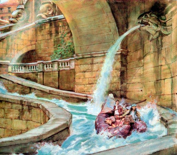Dinotopia - O Mundo Fantástico de James Gurney Arte & Ilustração literatura arte ilustração fantasia dinossauros james gurney Figura do Slideshow #19