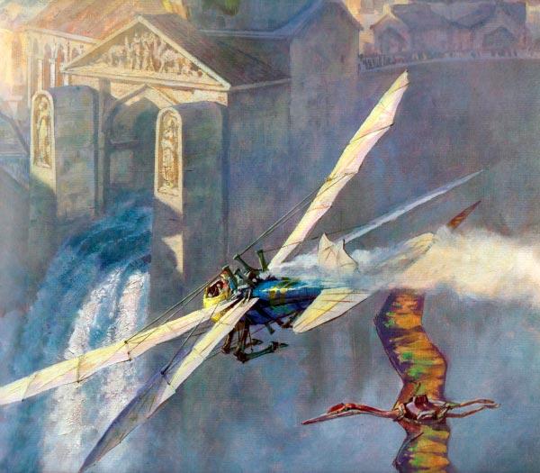 Dinotopia - O Mundo Fantástico de James Gurney Arte & Ilustração literatura arte ilustração fantasia dinossauros james gurney Figura do Slideshow #14