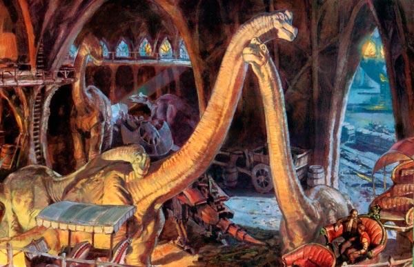 Dinotopia - O Mundo Fantástico de James Gurney Arte & Ilustração literatura arte ilustração fantasia dinossauros james gurney Figura do Slideshow #12