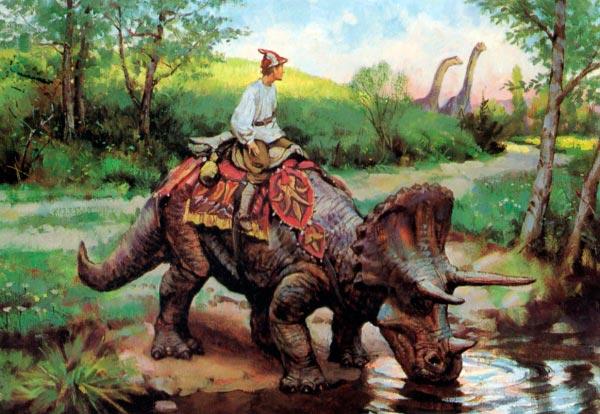 Dinotopia - O Mundo Fantástico de James Gurney Arte & Ilustração literatura arte ilustração fantasia dinossauros james gurney Figura do Slideshow #6