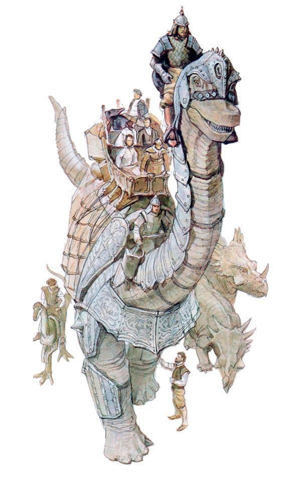 Dinotopia - O Mundo Fantástico de James Gurney Arte & Ilustração literatura arte ilustração fantasia dinossauros james gurney Figura do Slideshow #1