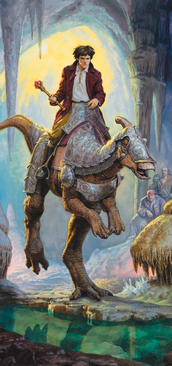 Dinotopia - O Mundo Fantástico de James Gurney Arte & Ilustração literatura arte ilustração fantasia dinossauros james gurney Figura do Slideshow #15