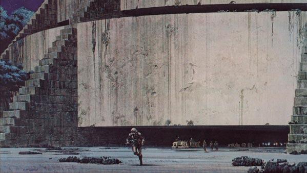 Star Wars IV: Uma Nova Esperança - Arte Conceitual de Ralph McQuarrie Arte & Ilustração Cinema arte ilustração fantasia cinema star wars sci-fi ralph mcquarrie Figura do Slideshow #39
