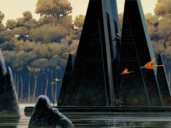Star Wars IV: Uma Nova Esperança - Arte Conceitual de Ralph McQuarrie Arte & Ilustração Cinema arte ilustração fantasia cinema star wars sci-fi ralph mcquarrie Figura do Slideshow #40