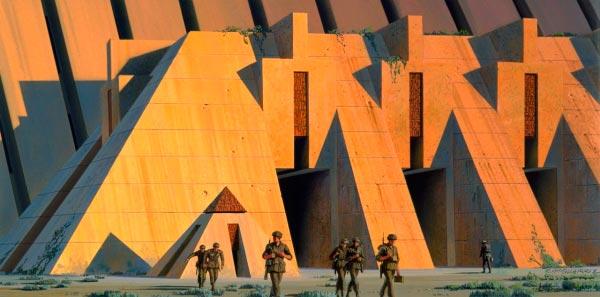 Star Wars IV: Uma Nova Esperança - Arte Conceitual de Ralph McQuarrie Arte & Ilustração Cinema arte ilustração fantasia cinema star wars sci-fi ralph mcquarrie Figura do Slideshow #35