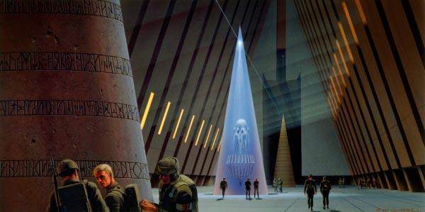 Star Wars IV: Uma Nova Esperança - Arte Conceitual de Ralph McQuarrie Arte & Ilustração Cinema arte ilustração fantasia cinema star wars sci-fi ralph mcquarrie Figura do Slideshow #34