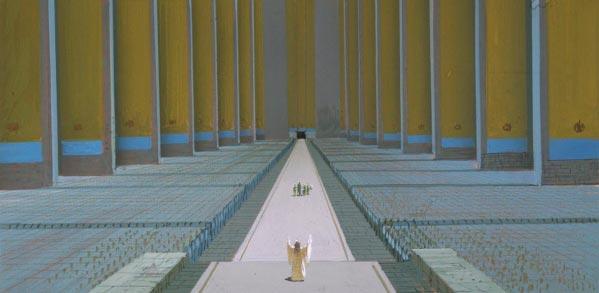 Star Wars IV: Uma Nova Esperança - Arte Conceitual de Ralph McQuarrie Arte & Ilustração Cinema arte ilustração fantasia cinema star wars sci-fi ralph mcquarrie Figura do Slideshow #33
