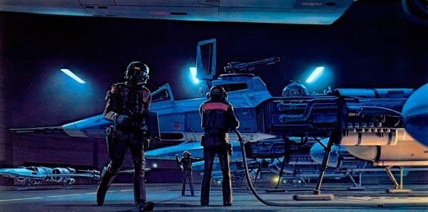 Star Wars IV: Uma Nova Esperança - Arte Conceitual de Ralph McQuarrie Arte & Ilustração Cinema arte ilustração fantasia cinema star wars sci-fi ralph mcquarrie Figura do Slideshow #31