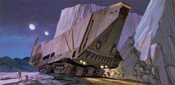 Star Wars IV: Uma Nova Esperança - Arte Conceitual de Ralph McQuarrie Arte & Ilustração Cinema arte ilustração fantasia cinema star wars sci-fi ralph mcquarrie Figura do Slideshow #4