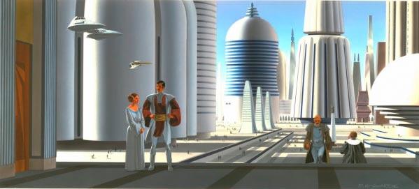 Star Wars IV: Uma Nova Esperança - Arte Conceitual de Ralph McQuarrie Arte & Ilustração Cinema arte ilustração fantasia cinema star wars sci-fi ralph mcquarrie Figura do Slideshow #45