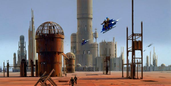 Star Wars IV: Uma Nova Esperança - Arte Conceitual de Ralph McQuarrie Arte & Ilustração Cinema arte ilustração fantasia cinema star wars sci-fi ralph mcquarrie Figura do Slideshow #46