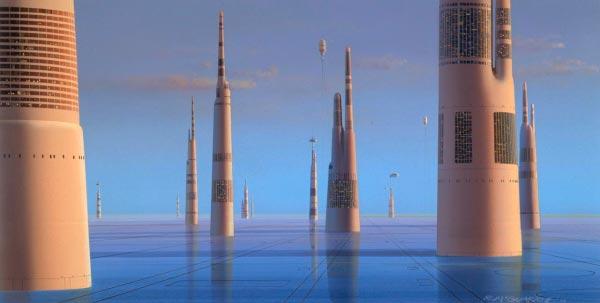 Star Wars IV: Uma Nova Esperança - Arte Conceitual de Ralph McQuarrie Arte & Ilustração Cinema arte ilustração fantasia cinema star wars sci-fi ralph mcquarrie Figura do Slideshow #42