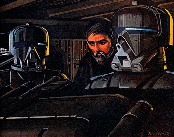Star Wars IV: Uma Nova Esperança - Arte Conceitual de Ralph McQuarrie Arte & Ilustração Cinema arte ilustração fantasia cinema star wars sci-fi ralph mcquarrie Figura do Slideshow #30