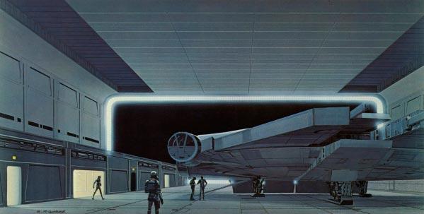 Star Wars IV: Uma Nova Esperança - Arte Conceitual de Ralph McQuarrie Arte & Ilustração Cinema arte ilustração fantasia cinema star wars sci-fi ralph mcquarrie Figura do Slideshow #28