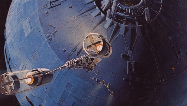 Star Wars IV: Uma Nova Esperança - Arte Conceitual de Ralph McQuarrie Arte & Ilustração Cinema arte ilustração fantasia cinema star wars sci-fi ralph mcquarrie Figura do Slideshow #26