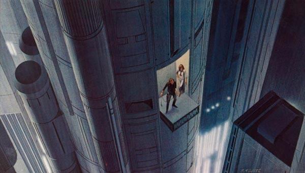 Star Wars IV: Uma Nova Esperança - Arte Conceitual de Ralph McQuarrie Arte & Ilustração Cinema arte ilustração fantasia cinema star wars sci-fi ralph mcquarrie Figura do Slideshow #21