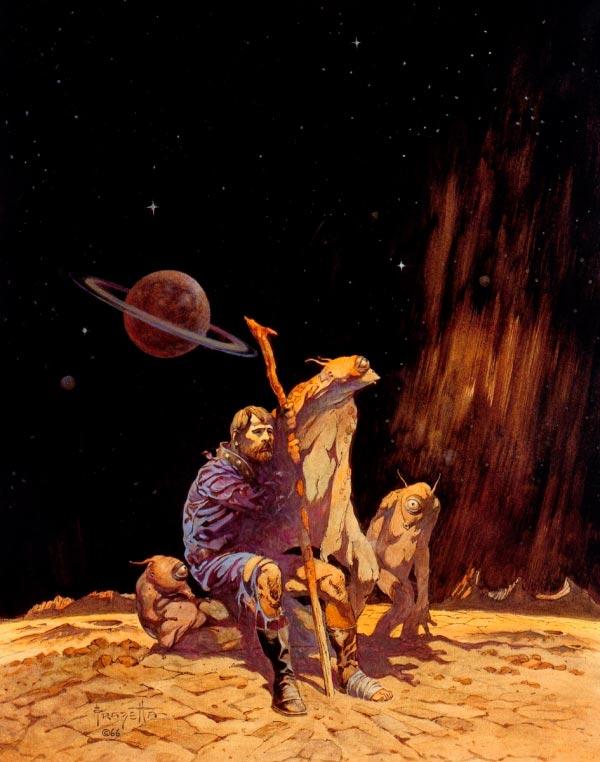 25 Ilustrações de Frank Frazetta: Fantasia de Ficção Científica Arte & Ilustração arte ilustração fantasia sci-fi frank frazetta Figura do Slideshow #3