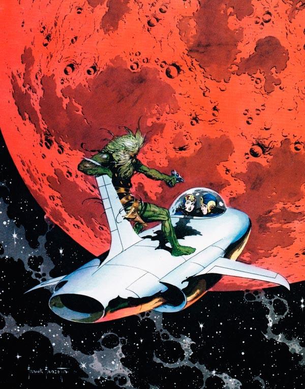 25 Ilustrações de Frank Frazetta: Fantasia de Ficção Científica Arte & Ilustração arte ilustração fantasia sci-fi frank frazetta Figura do Slideshow #14