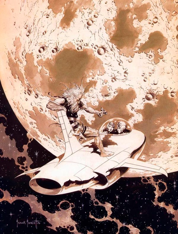 25 Ilustrações de Frank Frazetta: Fantasia de Ficção Científica Arte & Ilustração arte ilustração fantasia sci-fi frank frazetta Figura do Slideshow #13