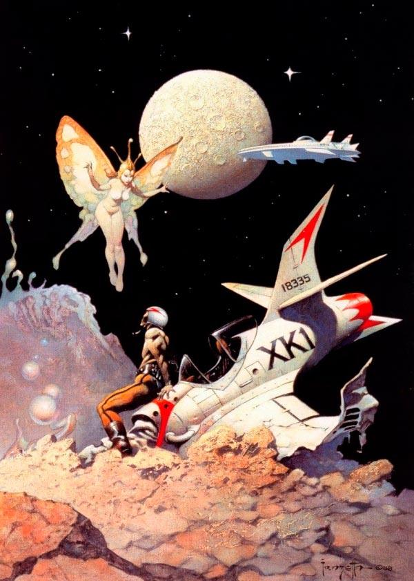 25 Ilustrações de Frank Frazetta: Fantasia de Ficção Científica Arte & Ilustração arte ilustração fantasia sci-fi frank frazetta Figura do Slideshow #9