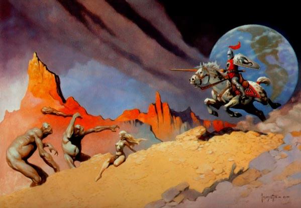 25 Ilustrações de Frank Frazetta: Fantasia de Ficção Científica Arte & Ilustração arte ilustração fantasia sci-fi frank frazetta Figura do Slideshow #5