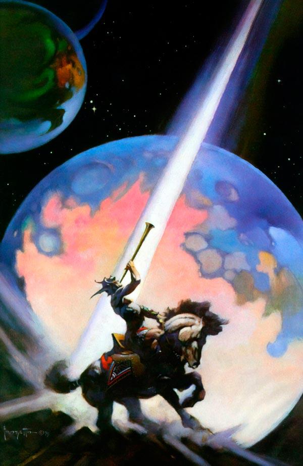 25 Ilustrações de Frank Frazetta: Fantasia de Ficção Científica Arte & Ilustração arte ilustração fantasia sci-fi frank frazetta Figura do Slideshow #4