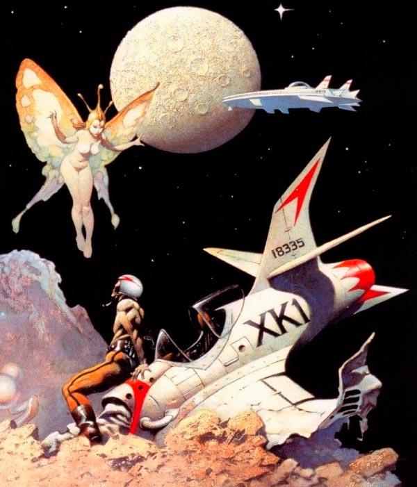 25 Ilustrações de Frank Frazetta: Fantasia de Ficção Científica Arte & Ilustração arte ilustração fantasia sci-fi frank frazetta Figura do Slideshow #1