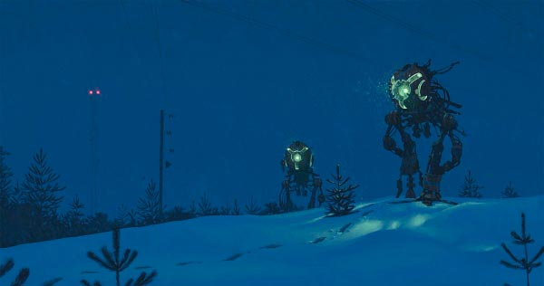 O Admirável Mundo Novo de Simon Stålenhag Arte & Ilustração arte ilustração fantasia sci-fi Figura do Slideshow #44