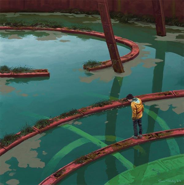 O Admirável Mundo Novo de Simon Stålenhag Arte & Ilustração arte ilustração fantasia sci-fi Figura do Slideshow #42