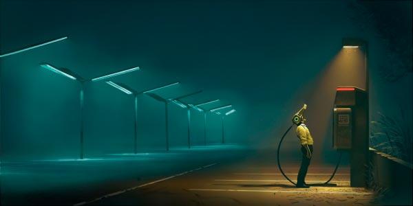 O Admirável Mundo Novo de Simon Stålenhag Arte & Ilustração arte ilustração fantasia sci-fi Figura do Slideshow #26