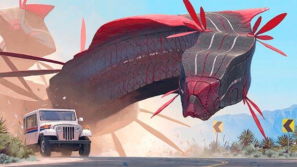 O Admirável Mundo Novo de Simon Stålenhag Arte & Ilustração arte ilustração fantasia sci-fi Figura do Slideshow #21