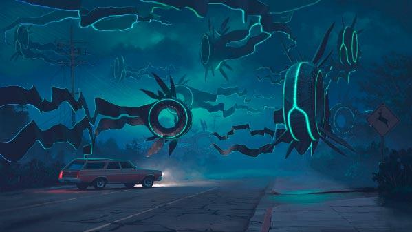 O Admirável Mundo Novo de Simon Stålenhag Arte & Ilustração arte ilustração fantasia sci-fi Figura do Slideshow #17