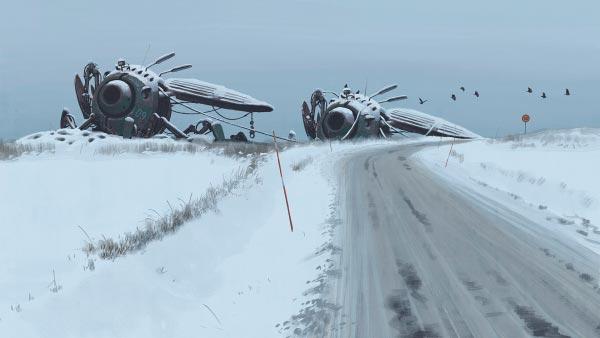 O Admirável Mundo Novo de Simon Stålenhag Arte & Ilustração arte ilustração fantasia sci-fi Figura do Slideshow #16