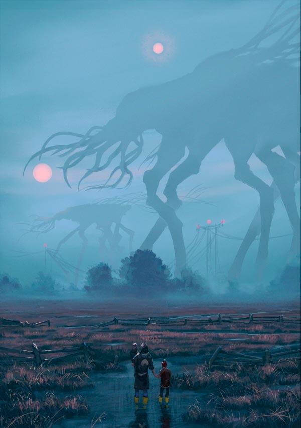 O Admirável Mundo Novo de Simon Stålenhag Arte & Ilustração arte ilustração fantasia sci-fi Figura do Slideshow #14