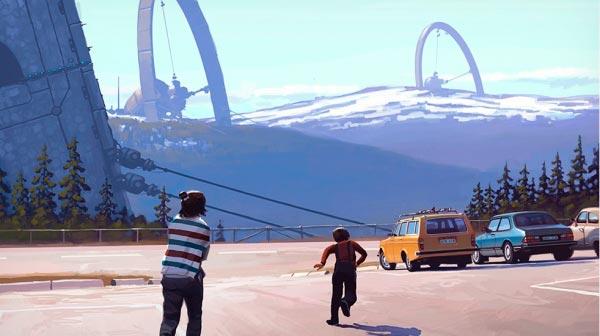 O Admirável Mundo Novo de Simon Stålenhag Arte & Ilustração arte ilustração fantasia sci-fi Figura do Slideshow #10