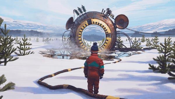 O Admirável Mundo Novo de Simon Stålenhag Arte & Ilustração arte ilustração fantasia sci-fi Figura do Slideshow #7