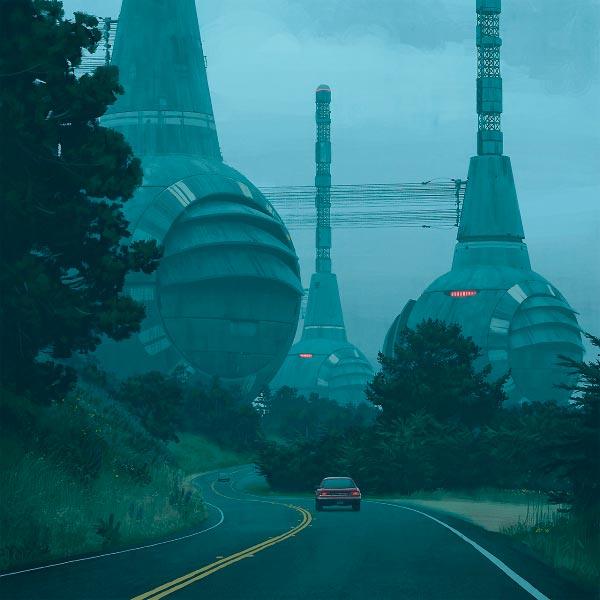 O Admirável Mundo Novo de Simon Stålenhag Arte & Ilustração arte ilustração fantasia sci-fi Figura do Slideshow #8