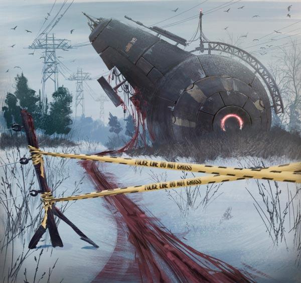 O Admirável Mundo Novo de Simon Stålenhag Arte & Ilustração arte ilustração fantasia sci-fi Figura do Slideshow #28
