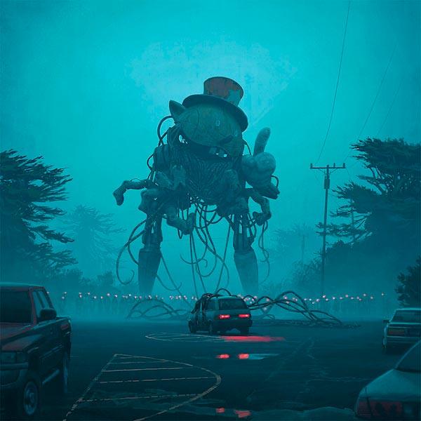 O Admirável Mundo Novo de Simon Stålenhag Arte & Ilustração arte ilustração fantasia sci-fi Figura do Slideshow #61
