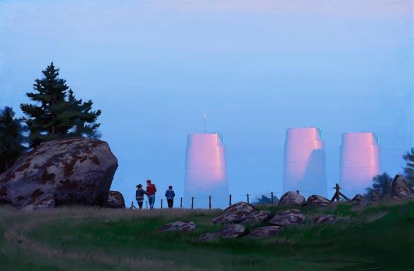 O Admirável Mundo Novo de Simon Stålenhag Arte & Ilustração arte ilustração fantasia sci-fi Figura do Slideshow #55