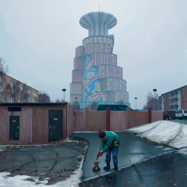 O Admirável Mundo Novo de Simon Stålenhag Arte & Ilustração arte ilustração fantasia sci-fi Figura do Slideshow #52