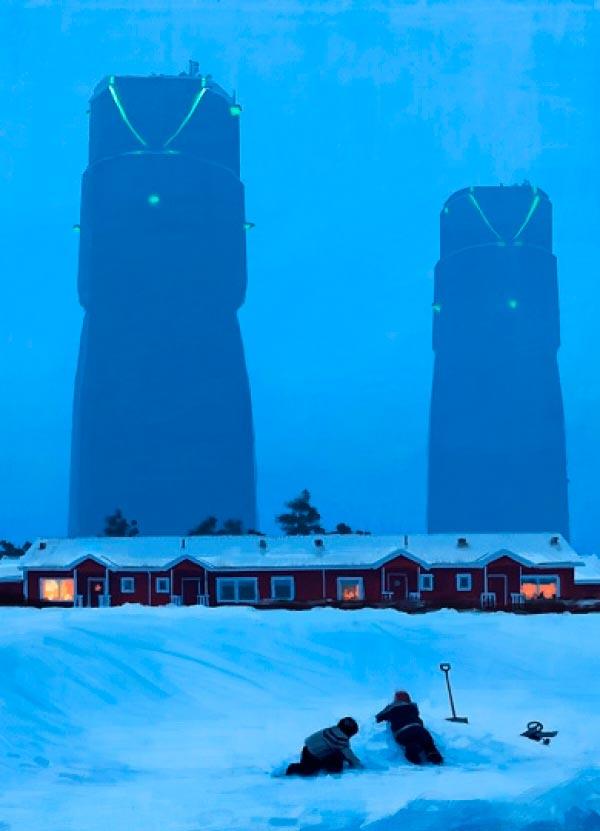 O Admirável Mundo Novo de Simon Stålenhag Arte & Ilustração arte ilustração fantasia sci-fi Figura do Slideshow #1