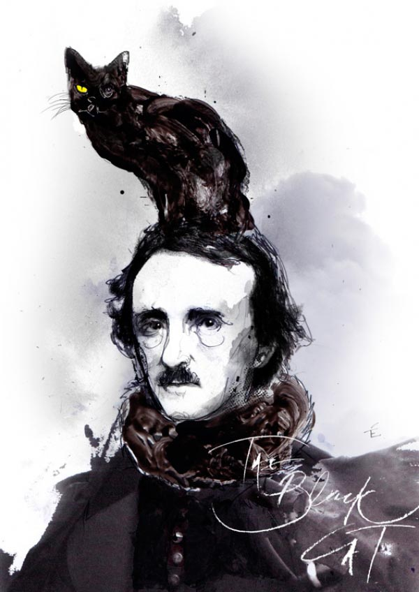 edgar allan poe o gato preto horror Figura do Slideshow #2