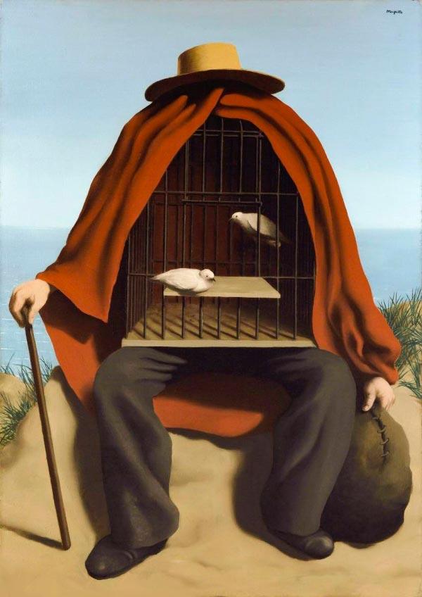 René Magritte - O Surrealismo do Mestre dos Paradoxos Arte & Ilustração arte ilustração fantasia surrealismo Figura do Slideshow #4
