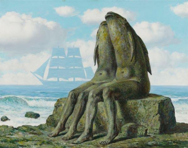 René Magritte - O Surrealismo do Mestre dos Paradoxos Arte & Ilustração arte ilustração fantasia surrealismo Figura do Slideshow #27