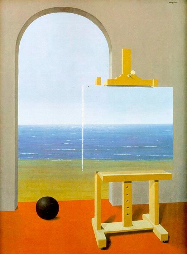 René Magritte - O Surrealismo do Mestre dos Paradoxos Arte & Ilustração arte ilustração fantasia surrealismo Figura do Slideshow #26