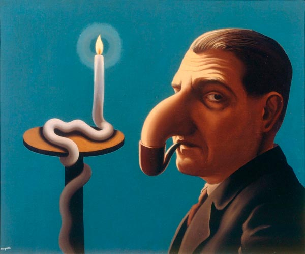 René Magritte - O Surrealismo do Mestre dos Paradoxos Arte & Ilustração arte ilustração fantasia surrealismo Figura do Slideshow #24