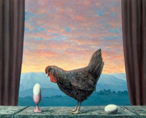 René Magritte - O Surrealismo do Mestre dos Paradoxos Arte & Ilustração arte ilustração fantasia surrealismo Figura do Slideshow #21